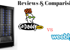 Comparison & Reviews: Godaddy vs Weebly