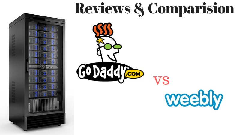 reviews Godaddy vs Weebly