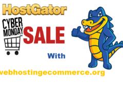 HostGator Cyber Monday Sale 2018 | Saving up to 80% off