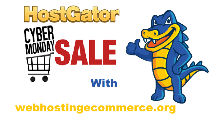 HostGator Cyber Monday Sale 2018